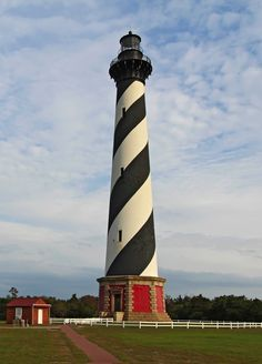Cape Hatteras is home to one of the East Coast's most picturesque lighthouses.