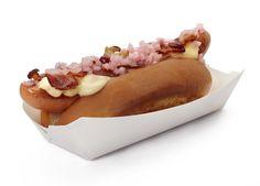 Bark hot dogs in Brooklyn