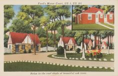 Ford's Motor Court, Prints and Photographs, LVA.