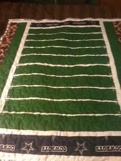 Custom Made Dallas Cowboys Quilt