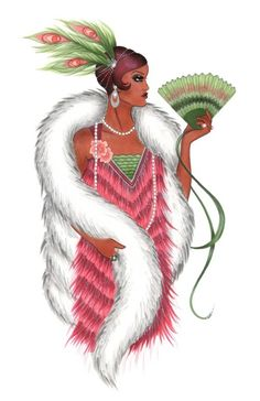 Fashion Illustration - Creating Fur with Copic Markers
