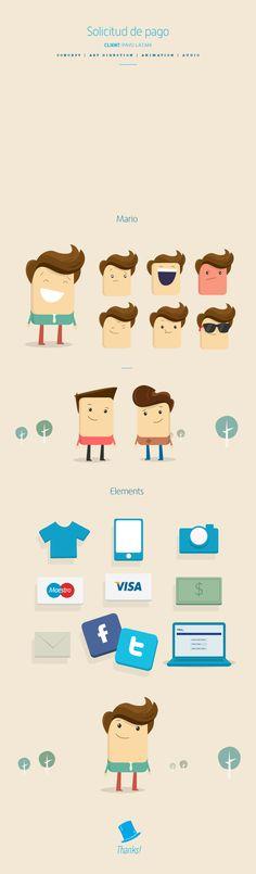 #flat #illustration #characters