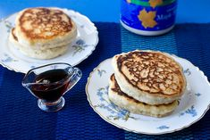 Puffy Pillow Pancakes (Vegan)