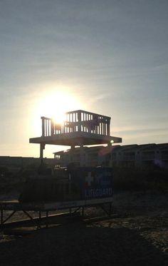 Sunset on Tybee Island