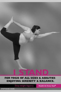 I stand (and bend and fold and etc.)