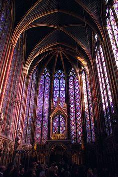 Saint Chapelle - Paris. How???