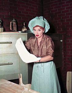 "Rare Color Photos of  ""I Love Lucy"""