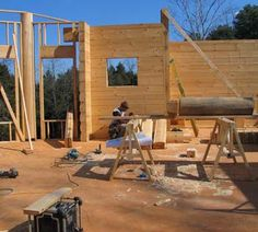 How To: Build an Old-School Log Cabin