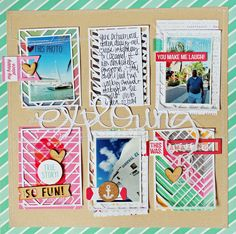Exploring by melissamann at @studio_calico |   #scrapbooking #layout