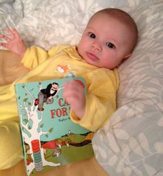 Phoenix reads Caps for Sale by Esphyr Slobodkina. Check out baby Phoenix's reading adventures here: http://phoenixbabybookclub.blogspot.com
