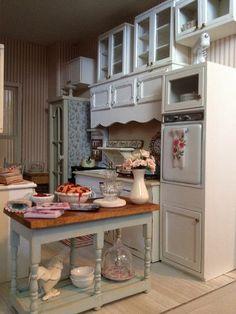 My dollhouse kitchen
