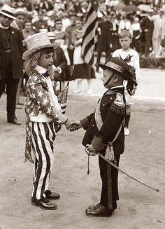 WWI Patriotic Parade