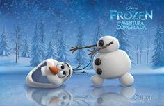 Olaf (voz en inglés de Josh Gad)