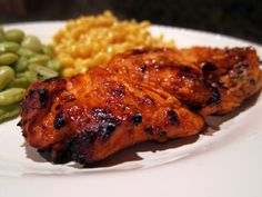Grilled Buffalo Chicken | Plain Chicken