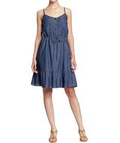 CUTE! Old Navy Pintucked Prairie Dress