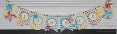 Summer Fun Canvas Banner created by Pam Staples for the Remarkables Summer Fun Pinworthy Blog Tour.
