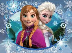 Disney frozen anna and elsa sisters Girls Room Kids Decor PERSONALIZE FREE