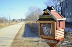 The Little Free Library, Madison WI