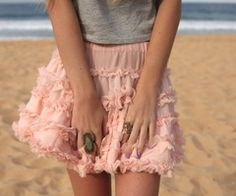 Pink skirt, yes please!