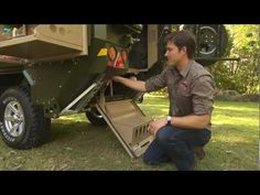 UEV 440 Conqueror Australia off road trailer