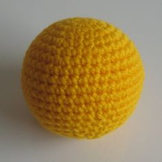 Mathematically perfect crocheted sphere. PDF download of pattern for different sized spheres.