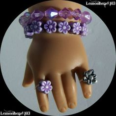 Doll ring idea: a pearl with elastic thread. pearl, camp crafts, american girl doll craft ideas