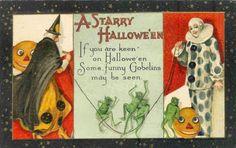 Google Image Result for http://www.clownpostcards.com/Halloween%2520Clowns/slides/A%2520Starry%2520Halloween.JPG