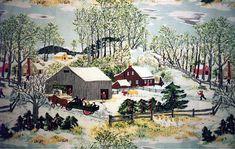 Early Springtime by Grandma Moses