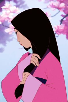 Beautiful still from Mulan - one of my middle school teachers actually knew an animator who worked on Mulan; they sent her stills and storyboards of the film. Very cool.