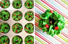 Christmas Corn Flake Wreath Treats