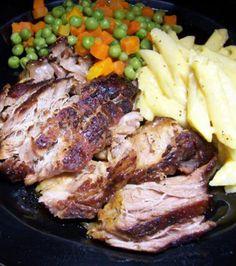 Honey BBQ Pork (Slow Cooker)
