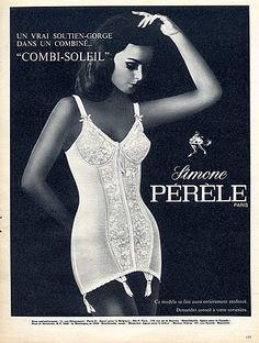 #vintage #ad #60s #corset #lingerie #beautiful