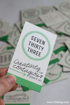 seven thirty three - - - a creative blog: Gorgeous Business Cards from JukeBoxPrint.com