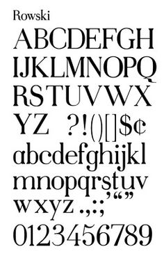 typeface | Tumblr