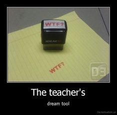 teacher gifts. Ha!