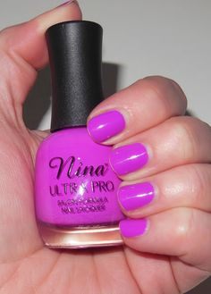 Nina Ultra Pro Nail Polish in Violet it Ride