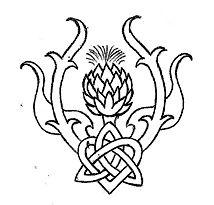 Celtic Thistle Tattoo