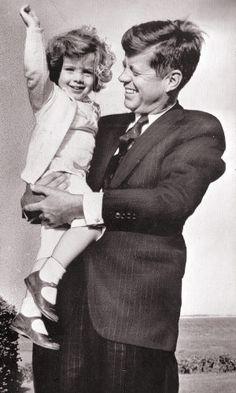 .JFK & Caroline.