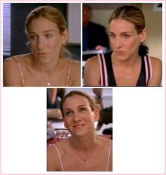 Carrie lovely and natural make-ups in Season 4 Episode 11: Coulda, Woulda, Shoulda | #fashion #carriebradshaw #makeup #sexandthecity