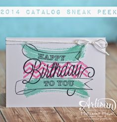 Stampin Up 2014 Catalog Sneak Peek #1 Video @ Creations by Mercedes