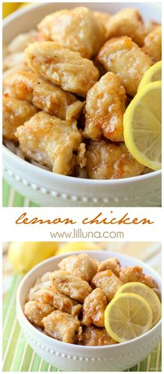 Simple and delicious Lemon Chicken recipe
