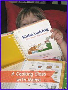 Cooking Class With Mama #kidsinthekitchen #lifeskills