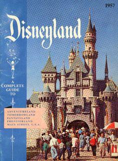 Disneyland happiest place, favorit place, vintage disneyland posters, 1957, disney photo, disney parks, disney castles, disney posters, vintag disney
