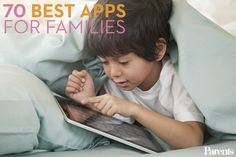 Use these #apps, approved by parents and kids alike, to stay organized and keep little ones entertained.