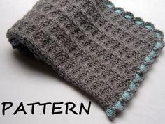 Crochet Baby Blanket Pattern $3.99, via Etsy.