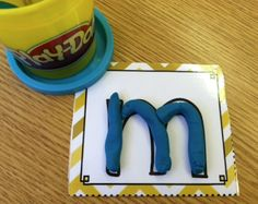 playdoh, literacy centers, colors, art, alphabet, learning, kids, letters, cards