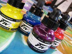 judi coat, alcohol inks, coat perez, chang hand, fabric dye