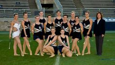 Penn State Majorettes, including our former Blue Sapphire!