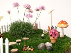 garden kit, fairies, miniatur garden, fairi garden, craft kit, gardens, miniature furniture, miniatur furnitur, kid