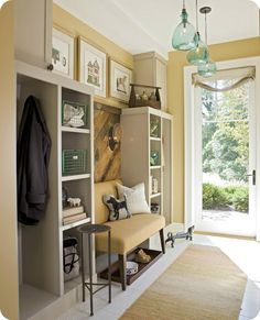 wall colors, design homes, mudroom, benches, lighting, entryways, light fixtures, mud rooms, pendant lights
